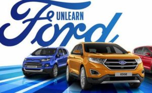 Logo Ford redesigns