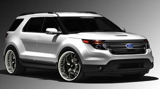 2019 Ford Explorer Redesign Ford Redesigns Com
