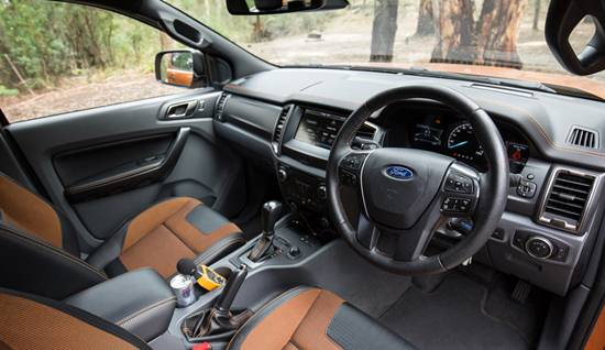 2018 Ford Ranger Interior