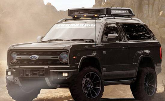 2019 Ford Bronco Concept