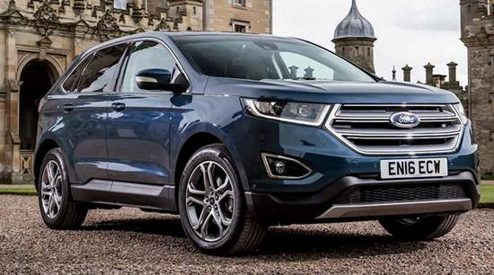 2018 Ford Edge Refresh