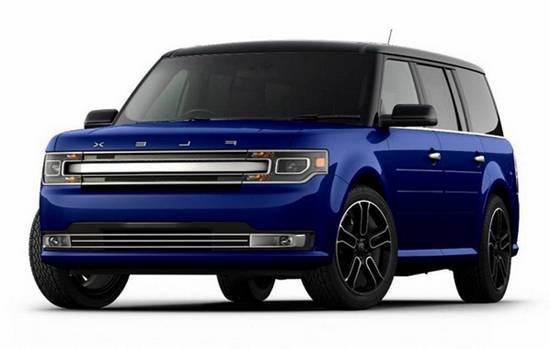 2018 ford flex blue colors pictures