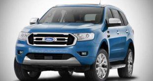 2018 Ford Endeavour Facelift