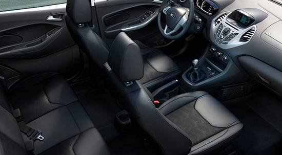 2018 Ford KA Interior