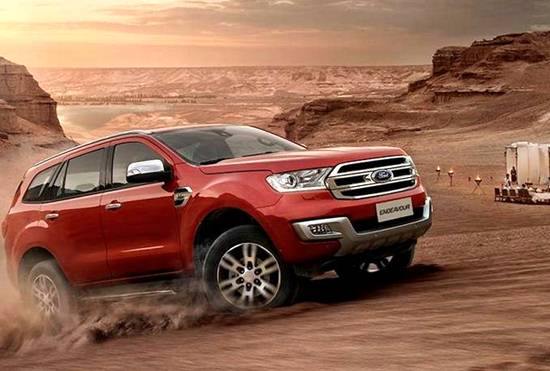 2019 Ford Endeavour