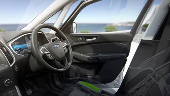 2019 Ford Galaxy Interior