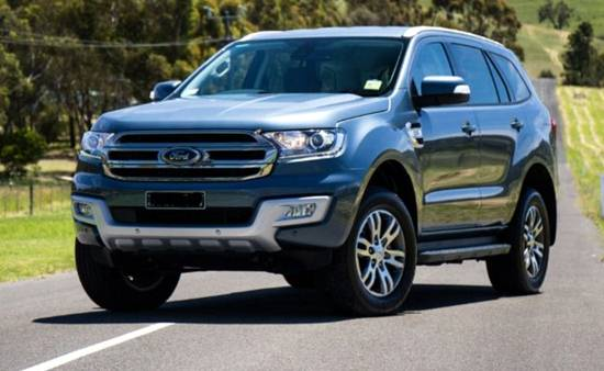 2018 Ford Everest Facelift