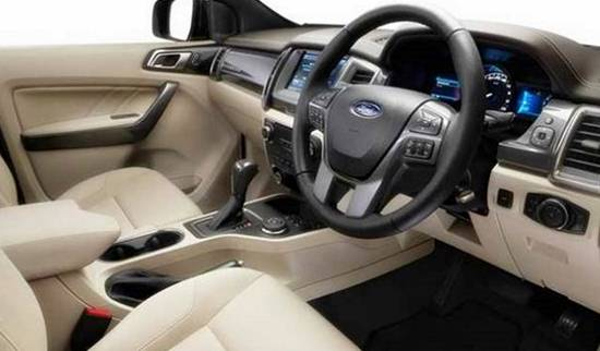 2018 Ford Everest Interior