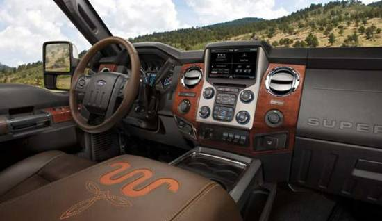 2018 ford f350 king ranch interior