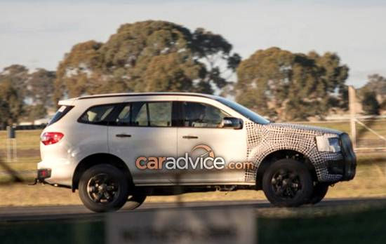 Ford Everest Pictures