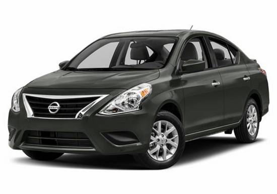 Nissan Versa Sedan S Plus