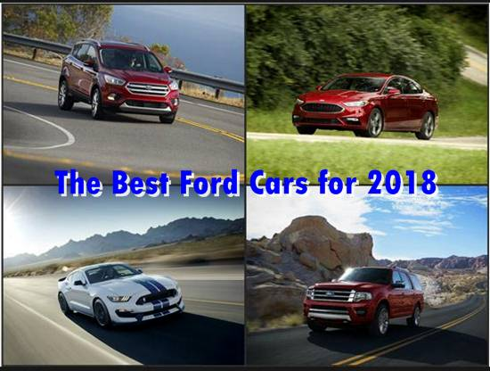 The Best Ford Cars for 2018