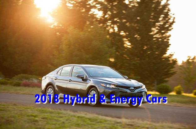 The best hybrid and Electric cars for 2018