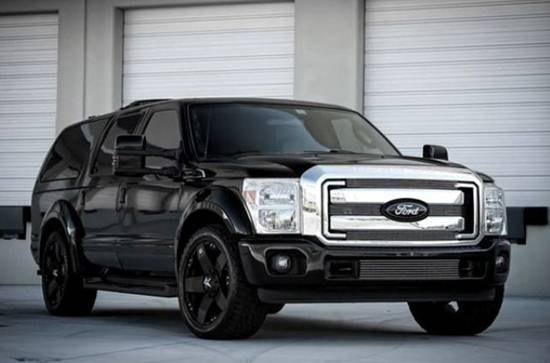 2018 Ford Excursion Concept Revealed