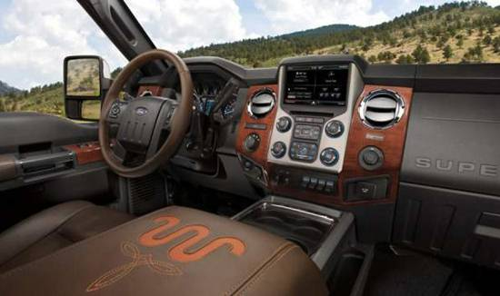 2018 Ford F250 King Ranch Interior