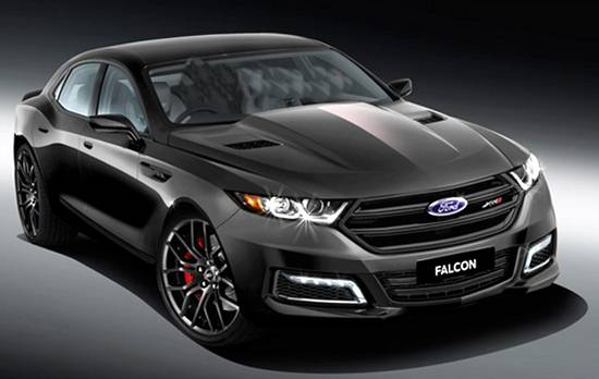2018 Ford Falcon Supercars Replacement