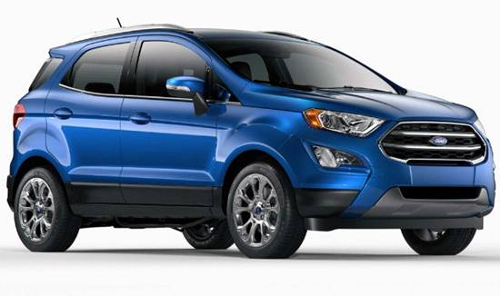2019 Ford EcoSport Reviews and Pricing