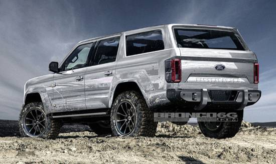 2020 Ford Bronco Pictures