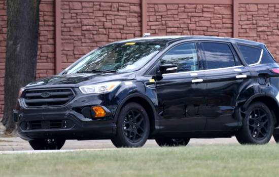 New Ford Escape Pictures
