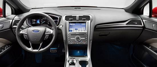 New Ford Mondeo 2019-2020 Interior