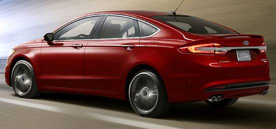 New Ford Mondeo Pictures