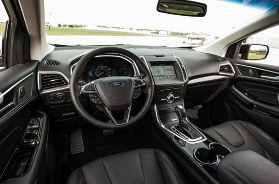 2019 Ford Edge Sport Interior