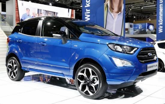 2020 Ford Ecosport Concept Revealed Ford Redesigns Com