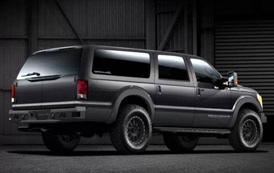 2020 Ford Excursion Pictures