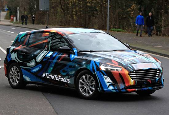 2020 Ford Focus Pictures