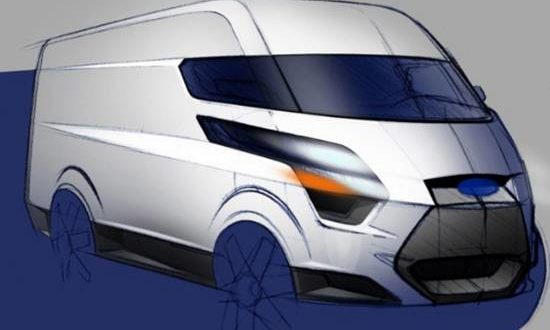 ford transit custom revealed   model ford redesignscom