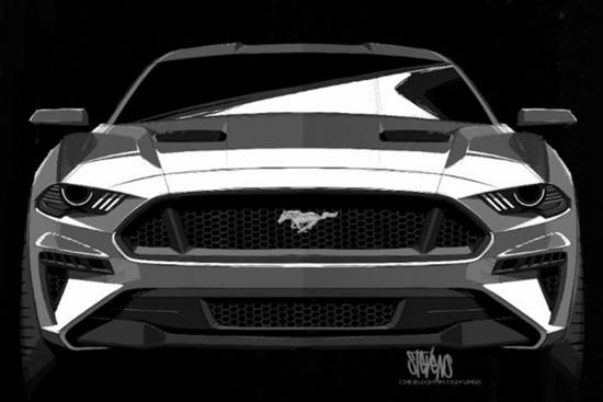 2021 Ford Mustang S650 Concept Rendering