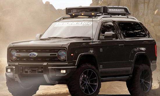2019 Ford Bronco Concept Car | Ford Redesigns.com