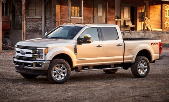 2018 Ford Super Duty King Ranch