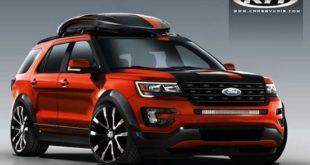 2022 Ford Explorer Concept