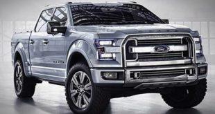 2018 Ford Atlas Concepts Trucks