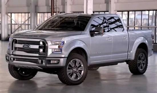 Ford F Future Concept Trucks