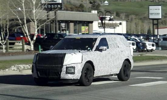 2018 Expedition Release Date >> 2021 Ford Explorer Redesign | Ford Redesigns.com